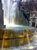 Fountain in Piazza Solferino_2 by PsikoPower