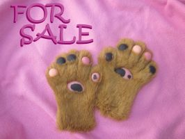 Small handpaws for sale! $90 by LilleahWest