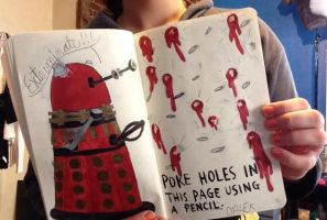 Wreck this Journal: Poke Holes in This Page by BrunettePanda