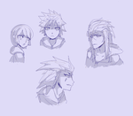 kh doodles by highcaves