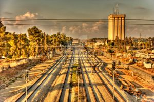 Train Yard by VTAL