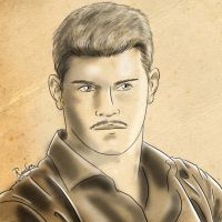 Cody Rhodes, traditional by Roselyne777