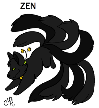 zen son of den den and kurama by discord79