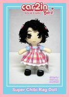 Curly Hair -- Rag Doll by car2in-bitz