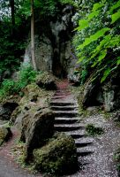 stone stairs by sk0201