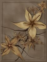 Sepia Stars by FractalEyes