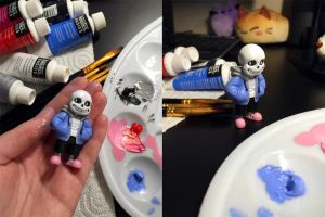 Sans 3d Print - painted by MissMaddyTaylor
