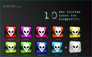 -Foobar2000's Colored Pack- by Hemingway81
