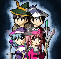 Wizard101 group by PinkLovii