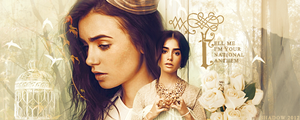 Signature Lily Collins by shad-designs