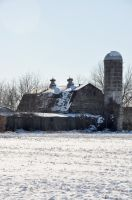 Abandoned Dairy Farm 4 by FairieGoodMother