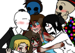 I love my Creepy Family! by Buta-Rockin-Erywhere