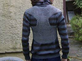 WIP- Chainmaille Shirt, Back by kingtut98