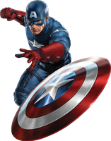 Captain America PNG by Celebirtyedition