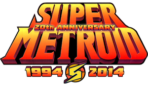 Super Metroid 20th Anniversary logo by SuperEdco