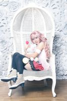 Final Fantasy XIII : Serah and Mog by oruntia
