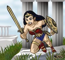 Wonder Woman to War by Odd-Voodoo
