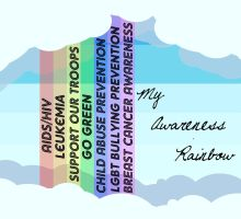 My Awareness Rainbow by TDIC-D-C-G-B-T-G
