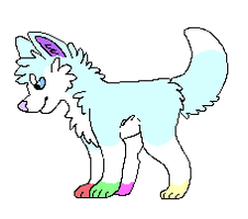 Sparkly pup by PunkyDragon