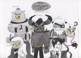 Meet the Conqueror Six by sonic4ever760