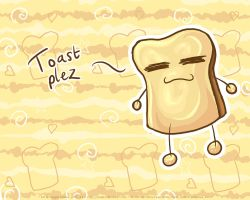 Wallpaper : TOASTPLEZ by imaeko
