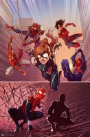 SPIDER-VERSE TEAM-UP #3 by Pryce14