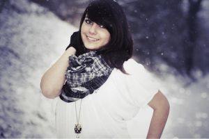 Chantal in Snow IV by RainySelection