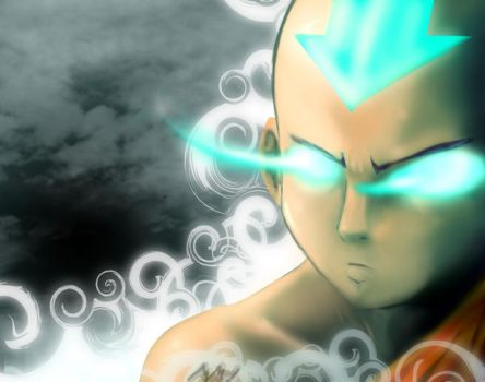 Avatar aang by fall-out