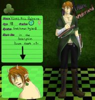 NW Clover App: Xionis Alric Balevine by Fullmetal-Outcast