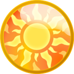 Sun Element Stone by StephDragonness