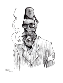 Dat Fez and Beard by Dolphinator45