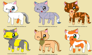 Adoptables #2 by skyclan199