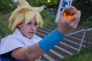 Gohan ssj1 Cosplay -Dragonball by XRallemangafreak