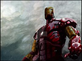 :Iron Man: by g0N3Morganna