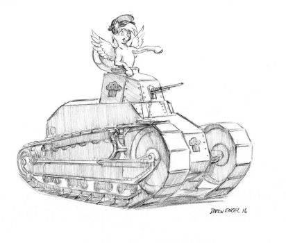 Muffin tank by Baron-Engel