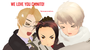 WE LOVE YOU CHINITO. by GoldCake33