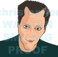 Christopher Walken caricature by vrm1979