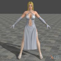 DOA5U Helena White dress (Updated) by zareef