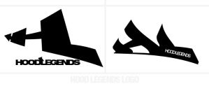 logo for hood legends clothing by sounddecor
