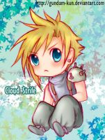Chibi Cloud by gundam-kun