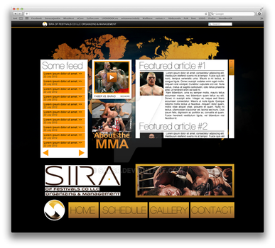mma site by salsr