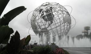 The 1964 Unisphere by hecestmoi