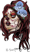 Living Dead Girl Tattoo by Harkaiden