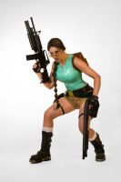 Classic Lara Croft Tomb Raider Cosplay by JennCroft
