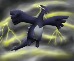 Shadow Lugia by PhoenixWulf