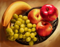 Still Life - Fruits by Isra2007