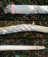 Toad Witch Wand Details by Lolair