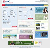 Travel Site Web Interface by sandhuharjeetsingh