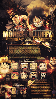 Monkey D luffy vertical iggy by Aura-Blade4