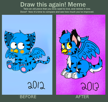 Draw again meme by hellasexual